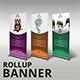 Multipurpose Rollup Banner