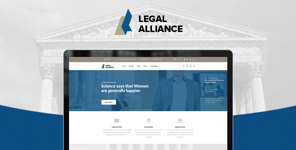Alliance – Legal, Audit, Accounting WordPress Theme