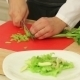 Chef Slicing Celery For Salad - VideoHive Item for Sale
