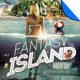 Fantasy Island Flyer Template - GraphicRiver Item for Sale