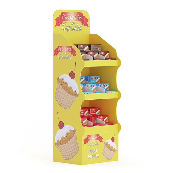 Market Shelf – Cupcakes - 3DOcean Item for Sale