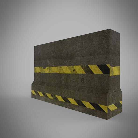 Roadblock - 3DOcean Item for Sale