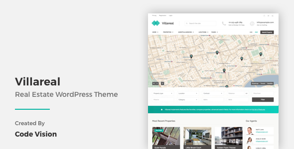 Villareal – Real Estate WordPress Theme