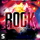 Rock Xplosion Flyer - GraphicRiver Item for Sale