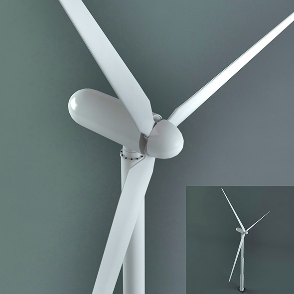 Wind power generator - 3DOcean Item for Sale