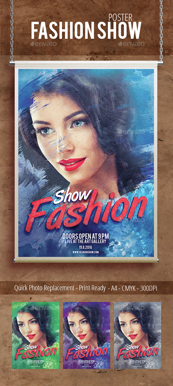 Fashion Show - Events Flyers