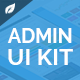 Sayang - Admin Dashboard UI KIT UI v1.0 - GraphicRiver Item for Sale