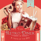 The Retro Diner Flyer Template - GraphicRiver Item for Sale