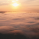 Aerial of Morning Fog and Sunrise - VideoHive Item for Sale