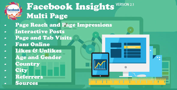 Facebook Insights Multi Page - CodeCanyon Item for Sale