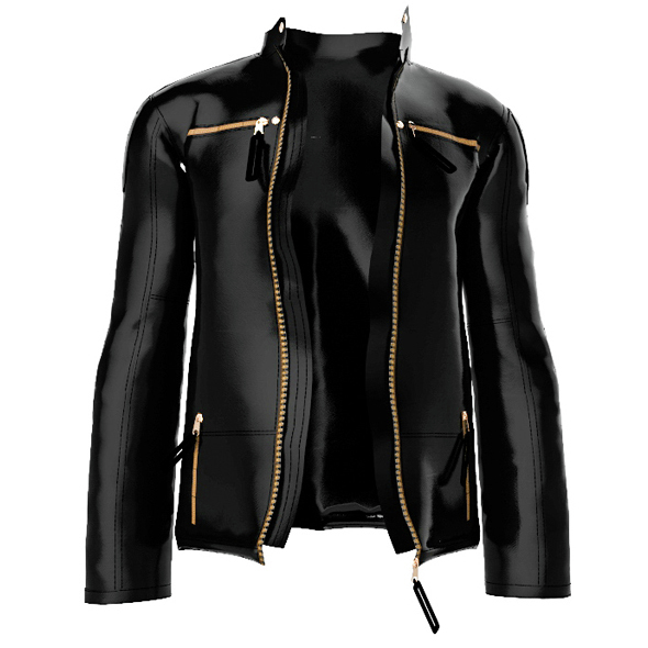 leather jacket - 3DOcean Item for Sale