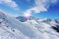 Slope on skiing resort, Alpe di Mera, Italy - PhotoDune Item for Sale