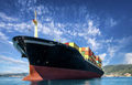 cargo freight, container ship in sea - PhotoDune Item for Sale