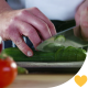 Chopping Cucumber - VideoHive Item for Sale