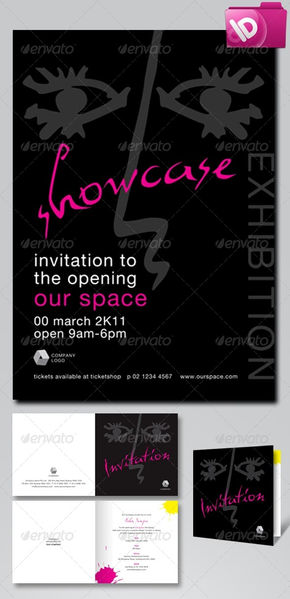Event Poster and Invitation - Invitations Cards & Invites