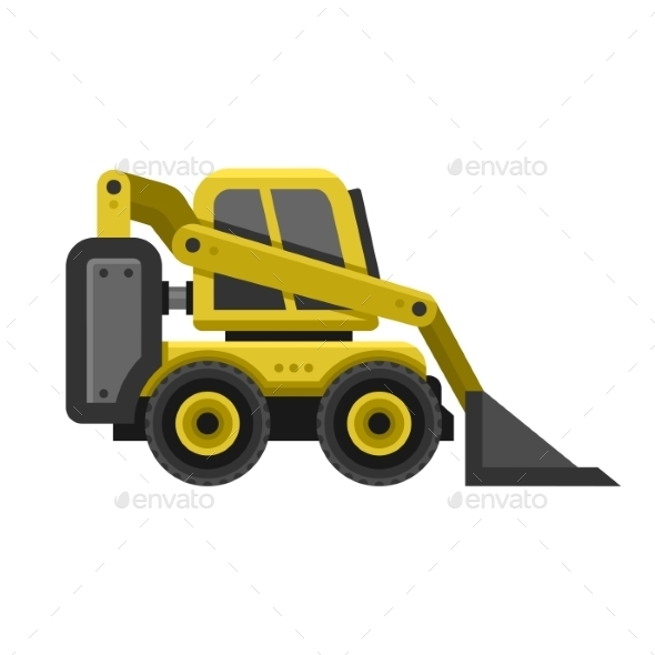 Bobcat Machine Icon - Buildings Objects