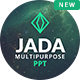 Jada - Multipurpose Presentation Template - GraphicRiver Item for Sale