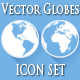 Globe Icon Set - GraphicRiver Item for Sale