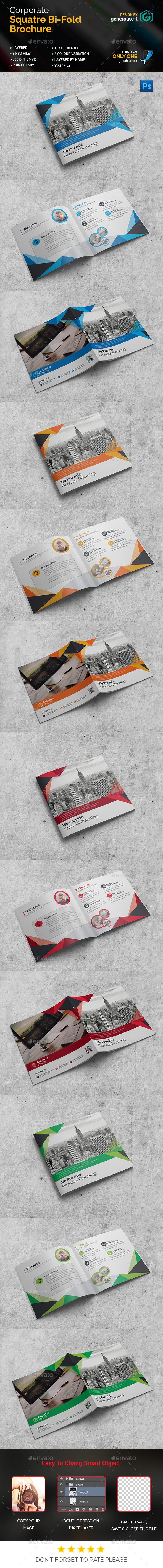 Square Bi-Fold Brochure_New - Corporate Brochures