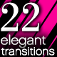 22 Elegant Transitions v2.0 - VideoHive Item for Sale