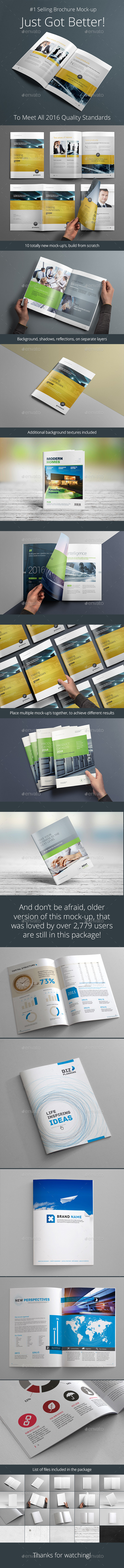 Photorealistic Brochure Mock-up - Brochures Print