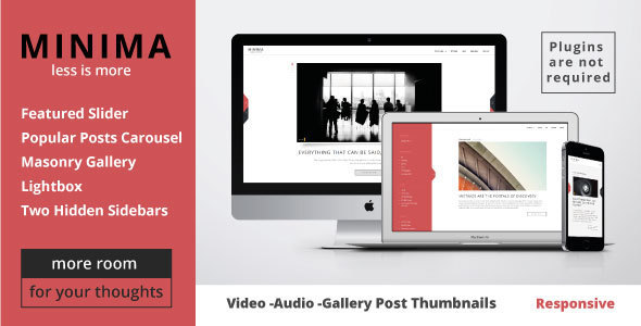 Minima - WordPress Theme