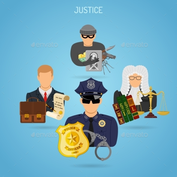 Fairness and Justice Concept - Web Technology