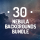 30 Space Nebula Backgrounds Bundle - GraphicRiver Item for Sale