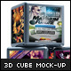 3D Cubes Photoshow Mock-up - GraphicRiver Item for Sale