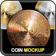 Photorealistic Coin Mock-Up - GraphicRiver Item for Sale