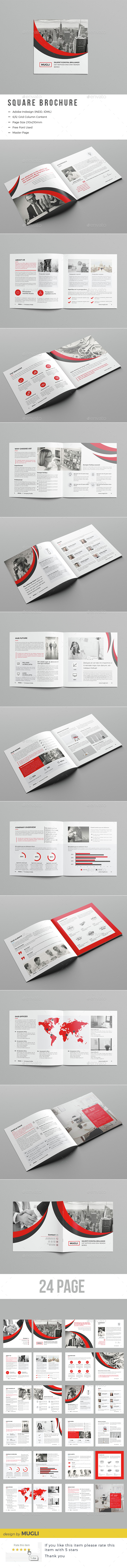 Square Business Brochure - Corporate Brochures