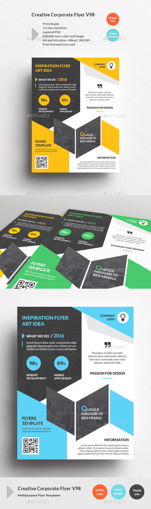 Creative Corporate Flyer V98 - Corporate Flyers