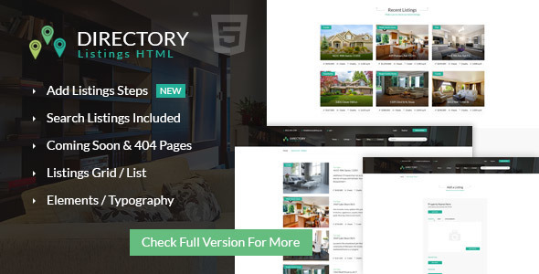 Directory Point Multipurpose Html Template - Corporate Site Templates