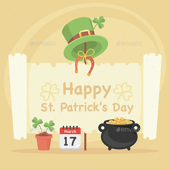 Concept Illustration St. Patrick's Day - Miscellaneous Seasons/Holidays