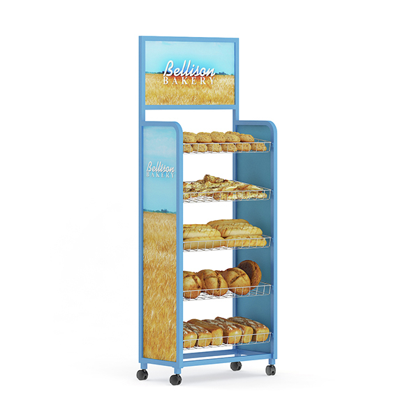 Market Shelf – Breads - 3DOcean Item for Sale