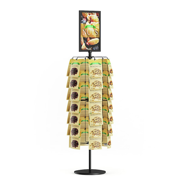 Market Stand – Nuts - 3DOcean Item for Sale