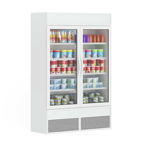 Market Refrigerator - 3DOcean Item for Sale