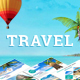 Travel and Tourism PowerPoint Presentation Template - GraphicRiver Item for Sale