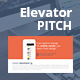 Elevator Pitch Keynote Presentation Bundle  - GraphicRiver Item for Sale