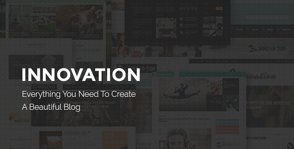 Innovation – Responsive WordPress Blog Theme