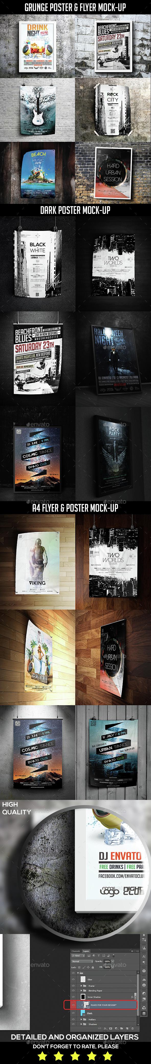 Poster Mock-Up Bundle - Posters Print