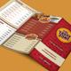 3 Fold Fast Food Menu + Timeline + Order Forms - GraphicRiver Item for Sale