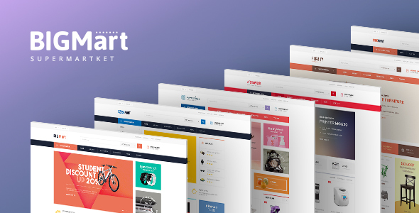 Pav Bigmart - Multi-purpose Opencart Theme