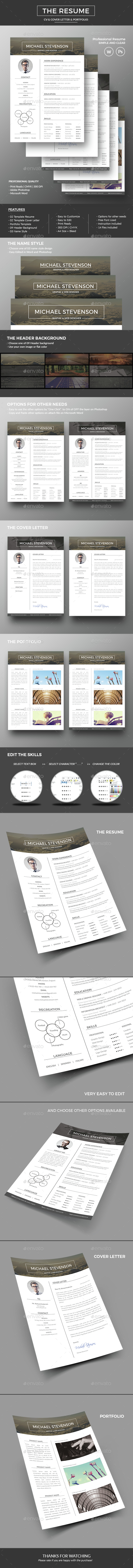 The Resume / CV - Resumes Stationery