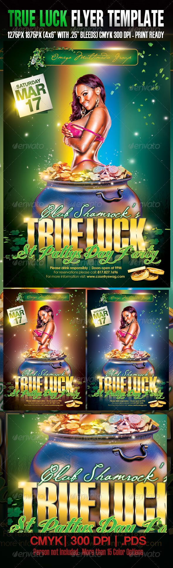 St. Patrick's True Luck Party - Clubs & Parties Events