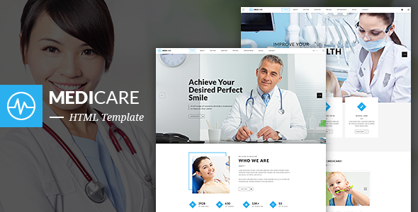 medicare dentist medical html5 template by themesflat themeforest