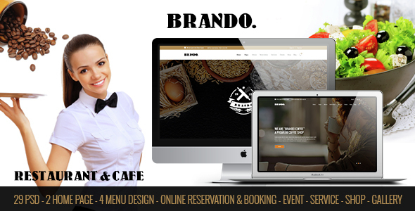 BRANDO - Restaurant & Cafe Online Booking Table - Restaurants & Cafes Entertainment