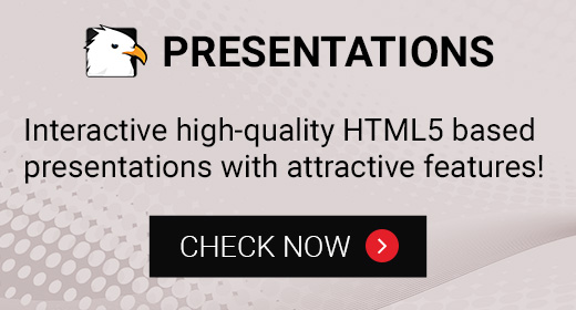 HTML5 INTERACTIVE PRESENTATIONS