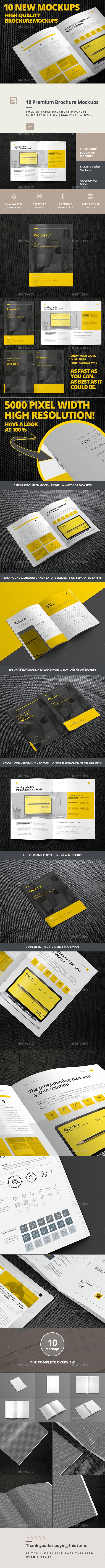Brochure Mock-up - Brochures Print
