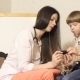 Woman Cardiologist Conducts Reception And Examine The Boy - VideoHive Item for Sale